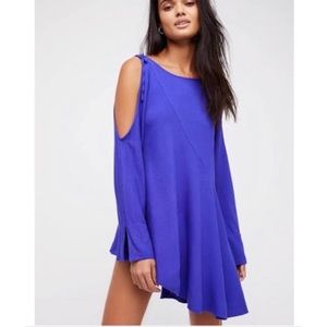 Free people clear skies violet tunic